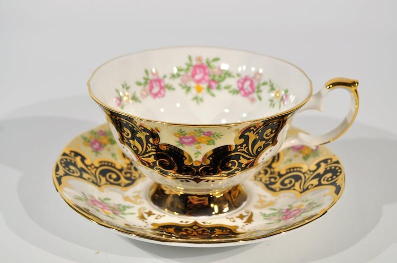 Elizabethan English Bone China teacup in the