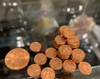 Penny Copper Link Bracelet 1964 Pennies Lincoln United States Coin