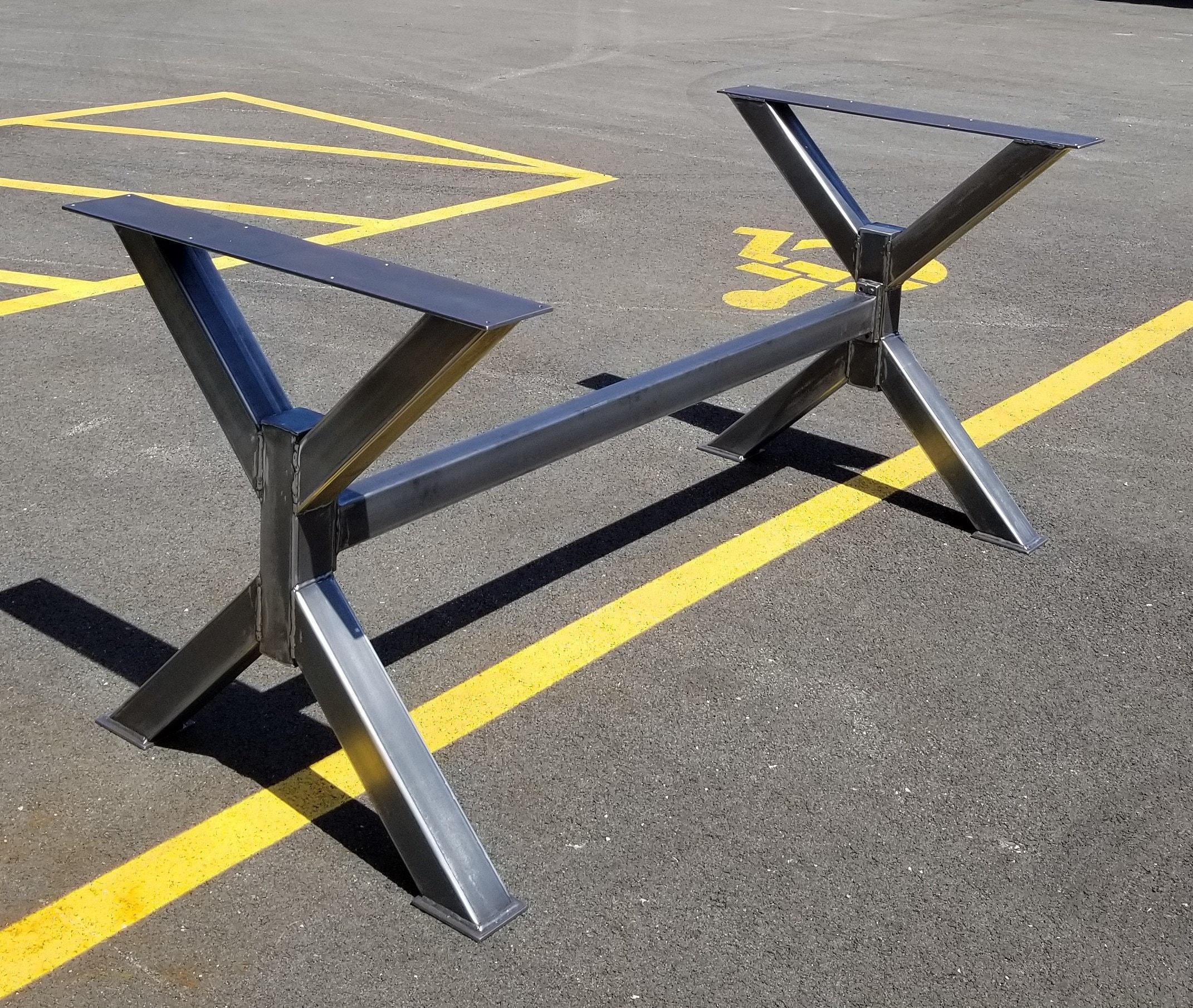 Metal Table, Bench Legs