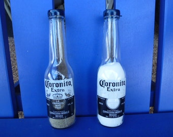 Coronita Salt & Pepper Shakers, Corona, Beer, Beer bottle salt and pepper shakers, salt and pepper, shakers