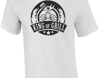 King of Grill - bbq t-shirt