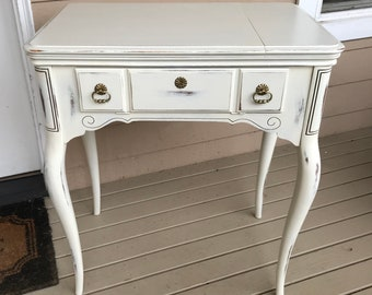 Sewing Table Desk Study Desk White