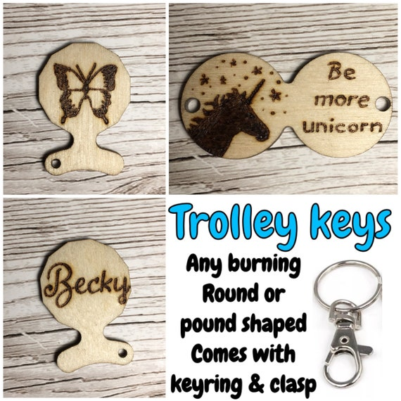 No1 Mum /& No1 Dad Supermarket Trolley Token Coin Thank You Gift Wedding Favours