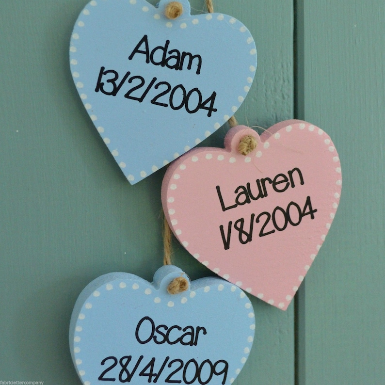 EXTRA HEARTS ONLY for Grandparents house rules plaque image 0