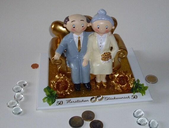 Geldgeschenk Gutschein Goldene Hochzeit Brautpaar 50 Jahre