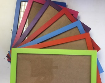 bright colourful a4 picture frame