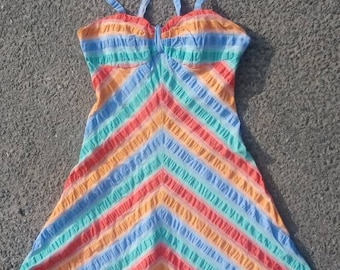 Mary Quant Ginger Group Cotton Sun Dress