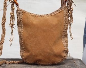 fdea2d552 Vintage bag purse suede, Cross body bag, Bag purse with long shoulder  strap, Crossbody suede bag, Bag with fringes, Shoulder bag 80s gift