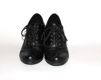 Vintage Casual Shoes, Elegant Sports Shoes, Vintage Women's Shoes, Leather Women's Shoes , Retro women's shoes, Leather Shoes for Women