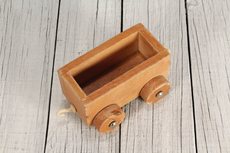 Vintage Wooden Wagon Wagon Toy Wood Wagon Old Toy Cart Vintage Cart Wooden Cart Rustic Cart Toy Wooden Cart