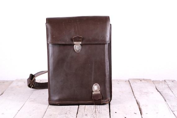 Soviet army bag, Military bag 60's, Soviet officer