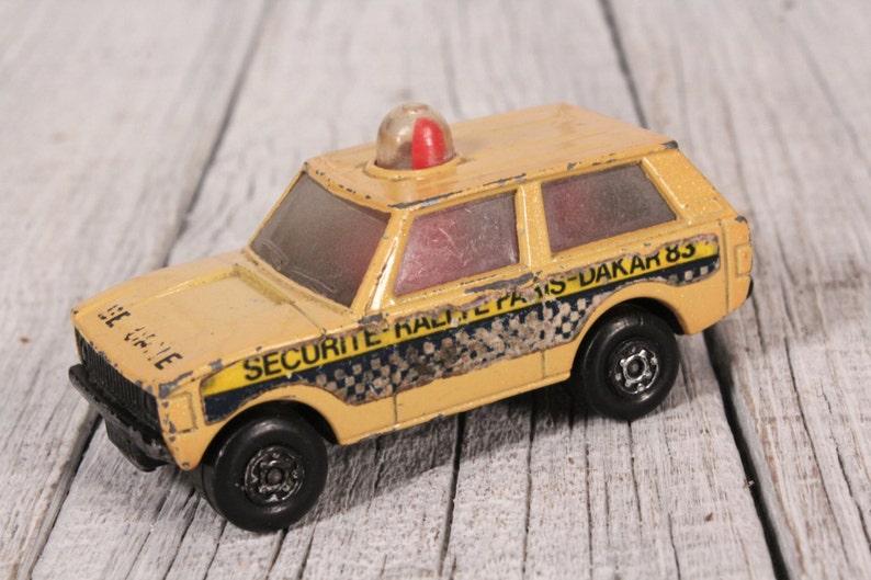 7a4baf8178 Matchbox No 20 Police patrol 1975 Lesney Products car