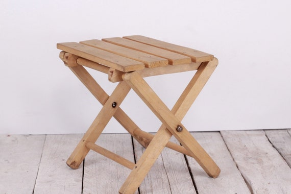 Surprising Camp Chair Stool Foldable Chair Camping Chair Small Wood Stand Wooden Seat Folding Stool Folding Chair Fishing Chair Portable Chair Machost Co Dining Chair Design Ideas Machostcouk
