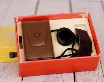 Vintage Soviet Kiev 30 Camera in Original Box Subminiature Spy Camera USSR Compact Camera 16 mm Film Miniature Working Camera