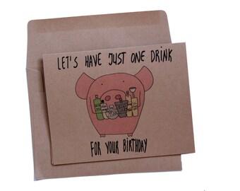 21st birthday card best friend funny 21 birthday card alcohol birthday card vodka birthday card funny best friend card drinking card friend