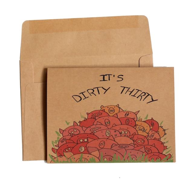 30th Birthday Card Dirty Thirty Birthday Card Funny 30 Etsy