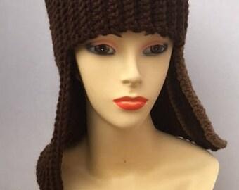 Fun Crocheted Wig Hat
