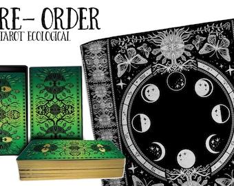 PRE-ORDER 78 Tarot Ecological - Tarot of the Healing Earth - Gaia Tarot, Earth Tarot, Environmental Tarot, Indie Deck, 78Tarot, tarot cards