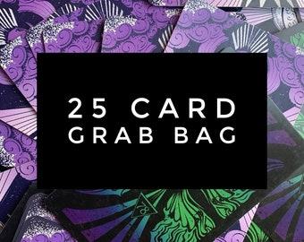 25 card Tarot Card Grab Bag for crafting journaling or reading, 78 Tarot cards, 78Tarot, tarot cards, tarot gift, divination, cartomancy