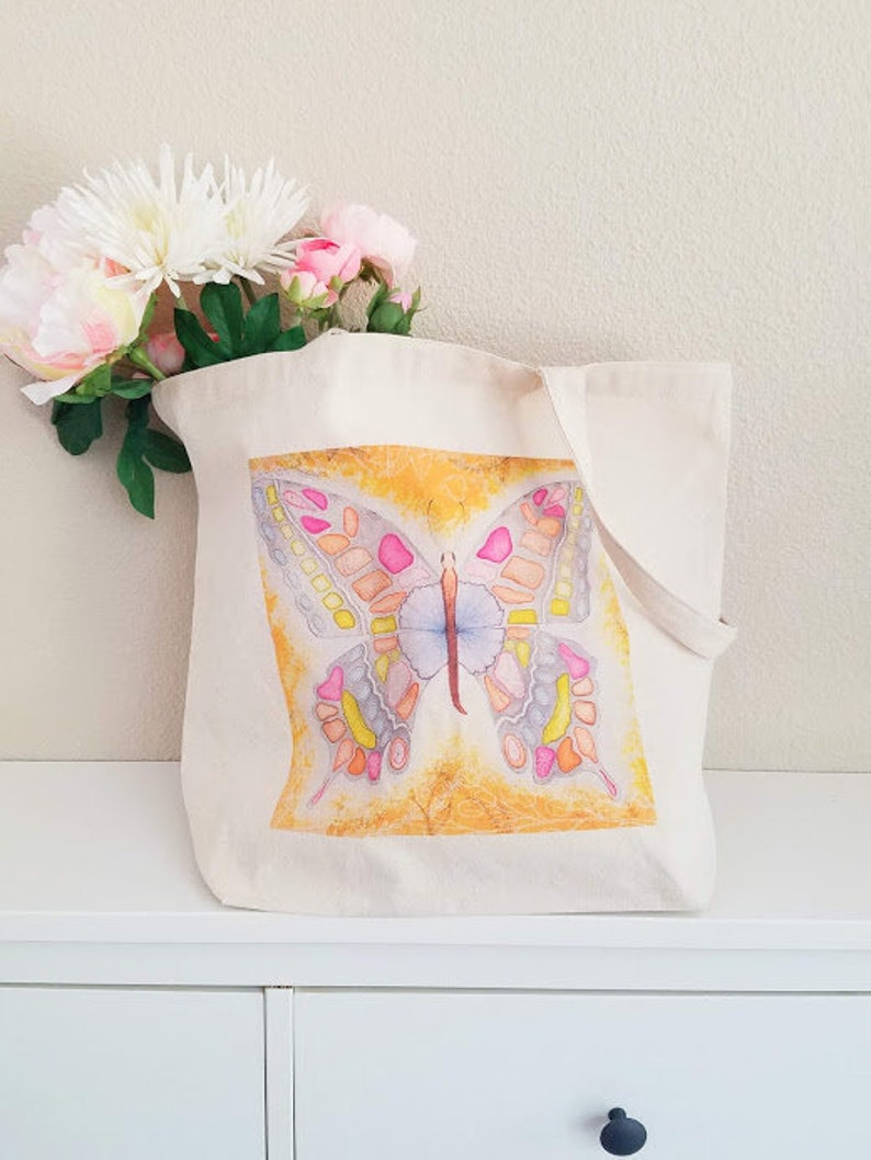 Butterfly tote bag image 0