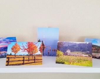 Landscape photo cards