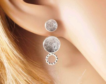 Double ear plug Trio with pearl wire circuit