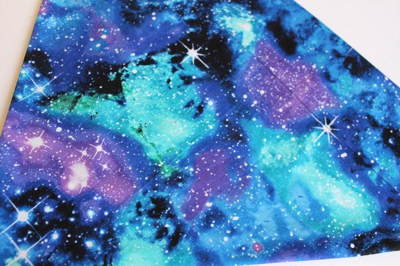 Galaxy Over the Collar Dog or Cat Bandana