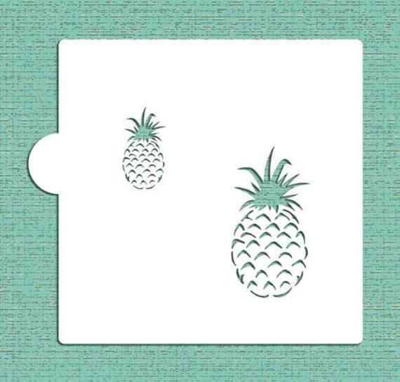 Galletas de piña plantilla Plantillas de diseño 5