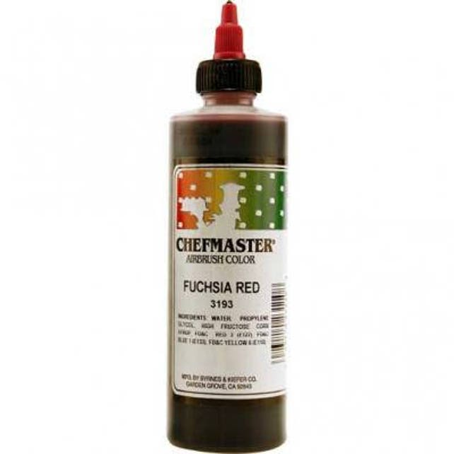 FUSCHIA RED  Chefmaster Airbrush Color