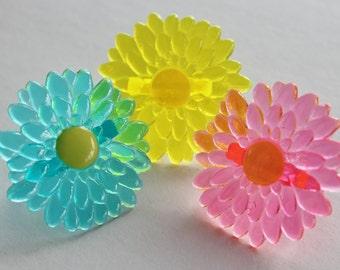 Gerbera Daisy Cupcake Rings