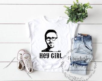 Hey girl T shirt Ryan Gosling