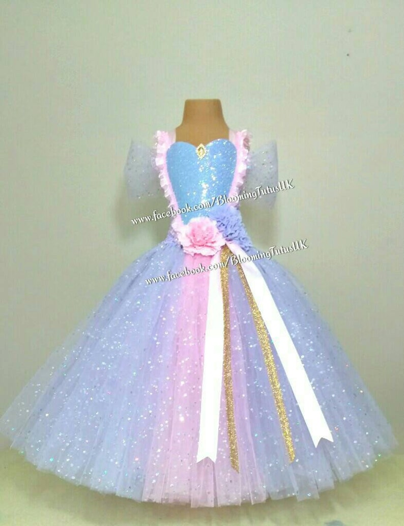 Photoshoot Pageant Party Mermaid Sparkly Tutu Skirt FREE UK DELIVERY Gift Birthday
