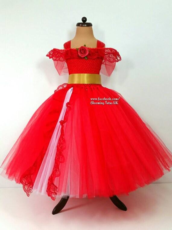 Rote Prinzessin handgefertigte Tutu Kleid-Geburtstag Party | Etsy