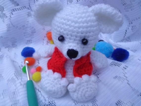 Teddy Bär kleinen Zehen Kuscheltier Figur häkeln | Etsy