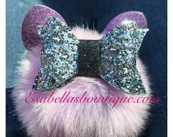 Glitter Bows;Glitter canvas bow;rosegold bows;hair bows;hair accessories;
