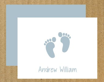 Baby Note  Cards, Set of 50, Thank You Cards, New Arrival Cards, Baby Thank You Cards, Baby Shower, Baby, Baby Girl, Baby Boy