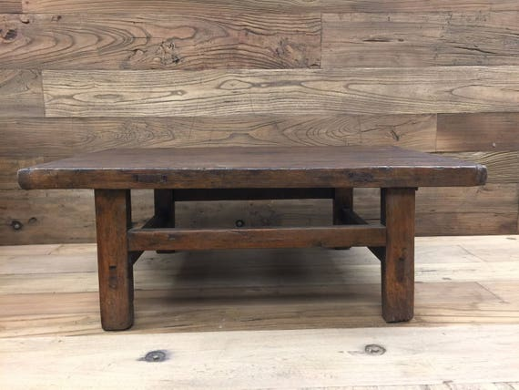 Brilliant Chinese Antique Elm Wood Low Table Coffee Table Kang Table Circa 1900 Andrewgaddart Wooden Chair Designs For Living Room Andrewgaddartcom