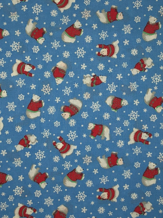 Cranston Print Works Christmas Quilting Fabric Christmas Etsy