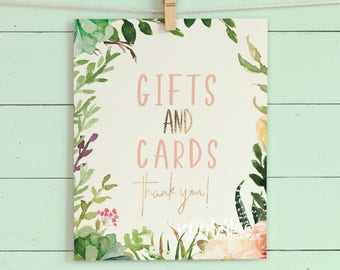 Gifts/Cards - Signs