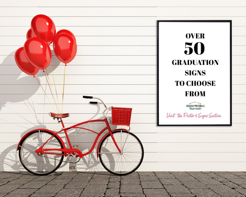 Adventure Awaits Graduation Party Welcome Sign Custom Party Signs Travel AD1 Blush Grad Party Decor Graduation Decorations 2021