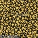Marion Soltz reviewed 10g TOHO 11/0 ROUND Seed beads - ANTIQUE Bronze - size 11 seed beads - 223