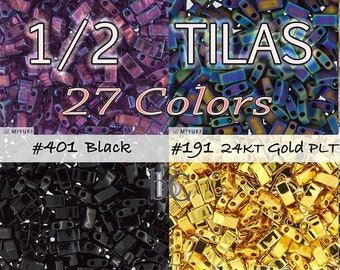 TILAS * 2-Hole beads