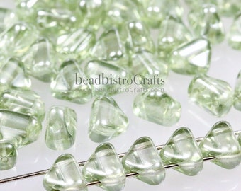 YOU SELECT COLORS!!! 20 gram 5X3mm RULLA CZECH PRESSED GLASS BEADS