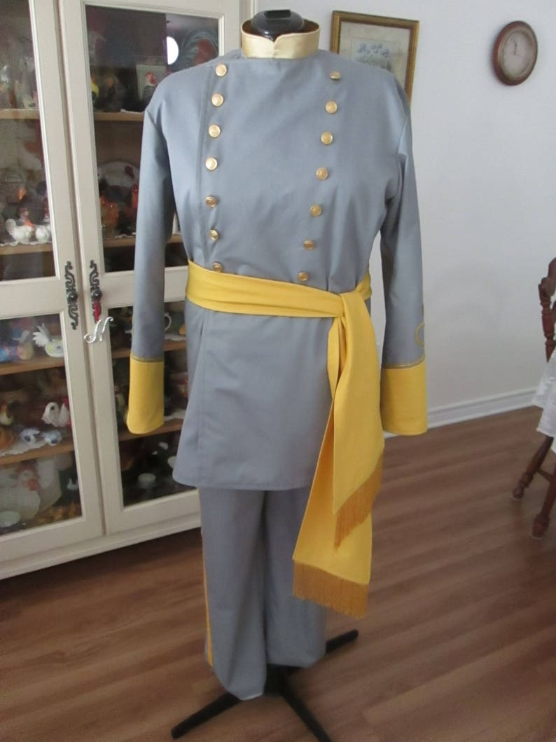 Victorian Men's Clothing, Fashion – 1840 to 1890s Civil War Soldier Costume 1860-1865 (Size L) #NB-49 $165.00 AT vintagedancer.com