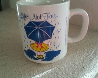 1992 Crystal Cathedral Life's Not Fair But God Is Good Mug