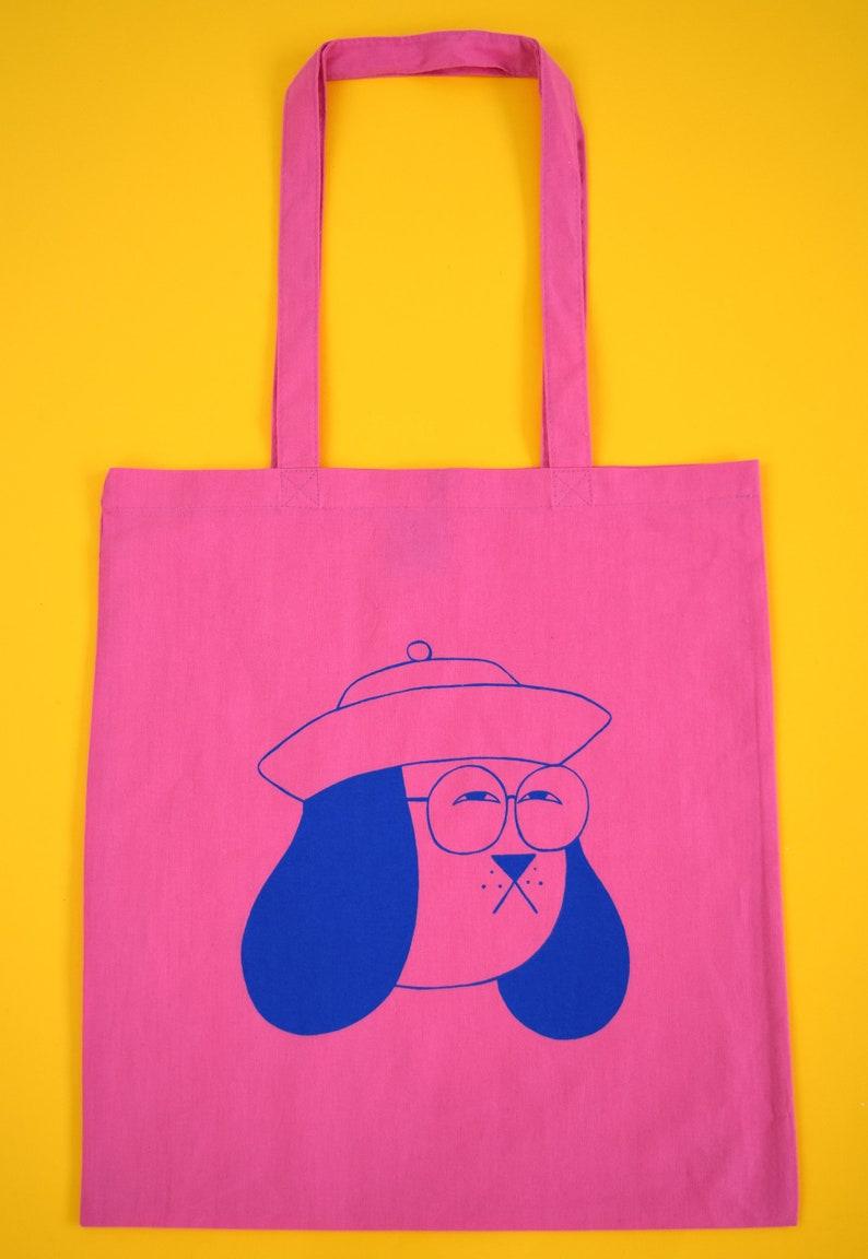 Personalizado De Lona Tote Bag Boys Blue Teddy idea regalo de cumpleaños bodas de la escuela