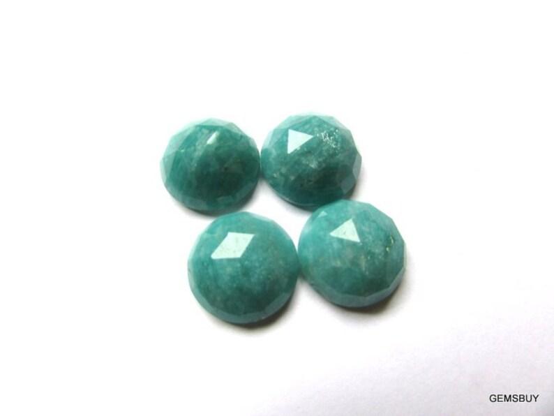 Nice Quality Amazonite Round Rosecut Cabochon AAA Quality gemstone... 1 pieces 15mm AMAZONITE Rosecut Round Loose Gemstone