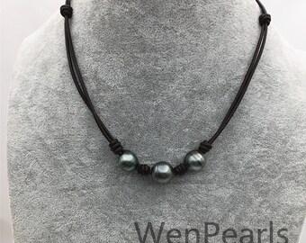3ecf24cde8bab Natural pearl choker | Etsy