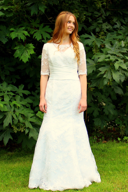 Modest Wedding Dress Custom Wedding Dress Wedding Dress Etsy