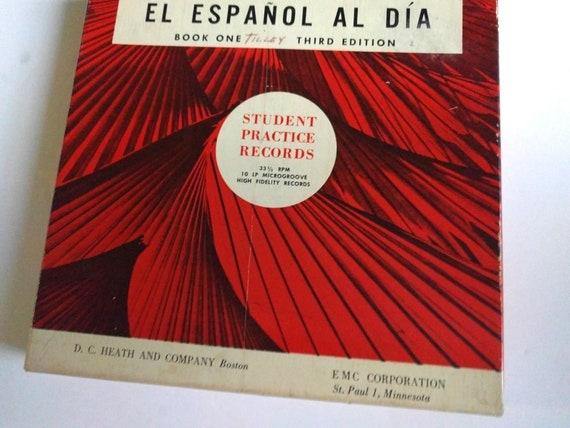 bf6b5492554 Vintage Turk   Allen El Espanol Al Dia Studen Practice Records